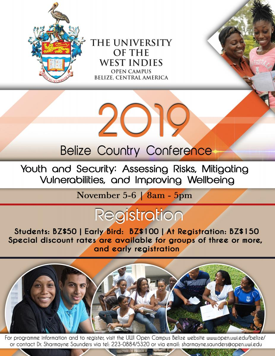 Belize Country Conference Flyer