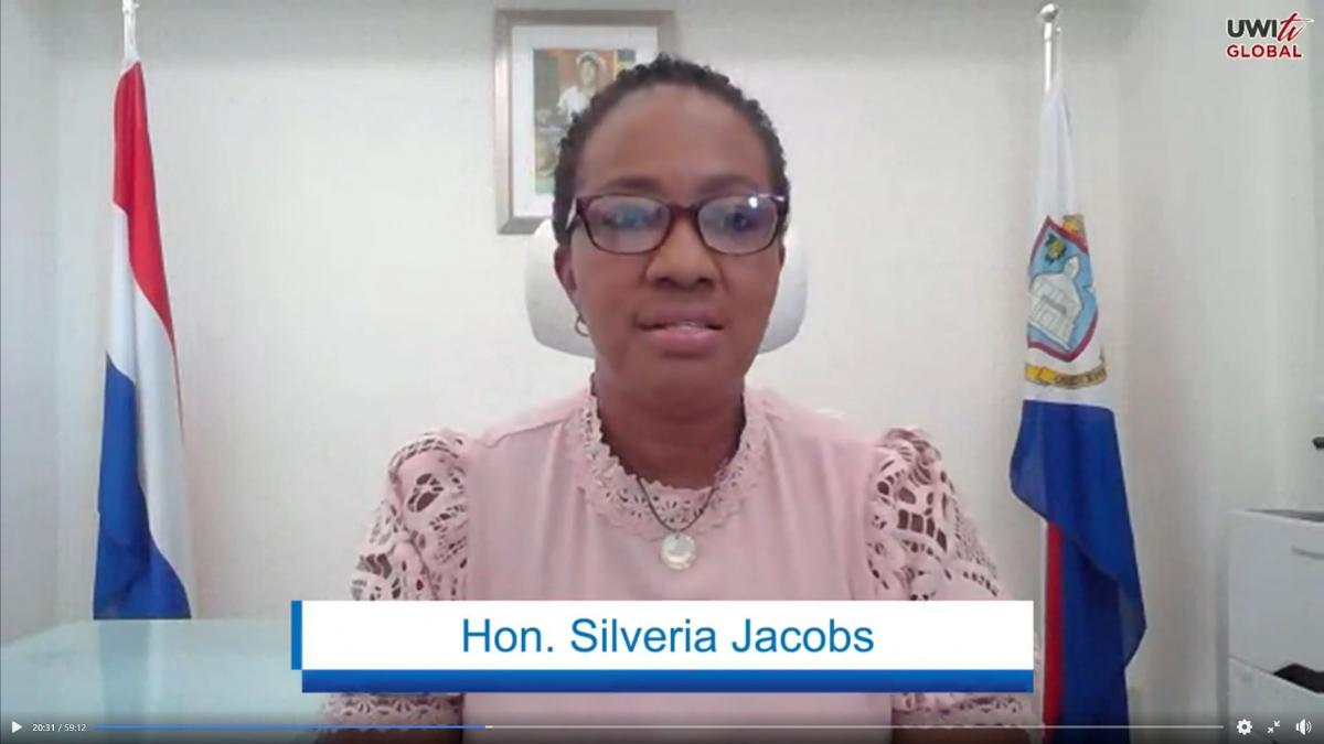 PM of St Maarten, The Honourable Silveria Jacobs
